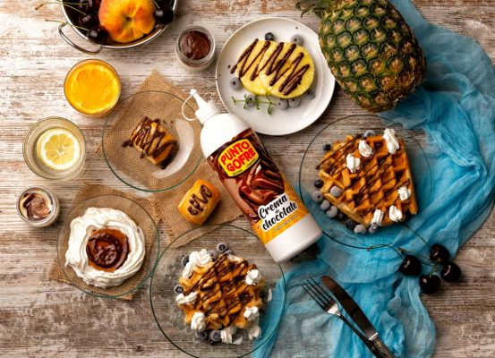 Gofres PuntoGofre Chocolate liquido Hotcreatividad fotografia alimentos