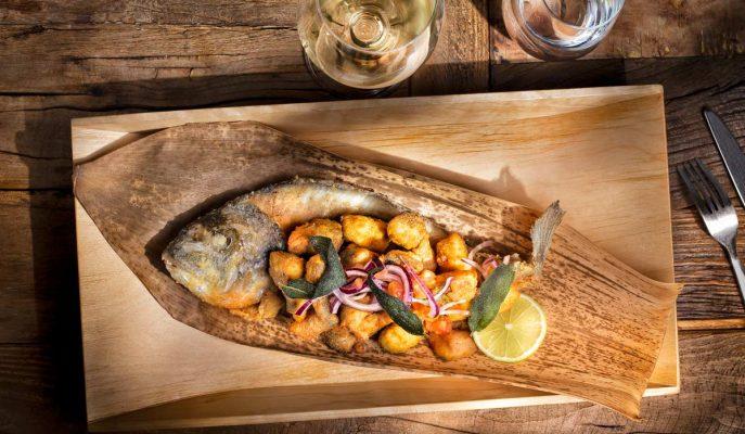 Dorada estilo Tai, Chef, fotografia gastronomica Hotcreatividad