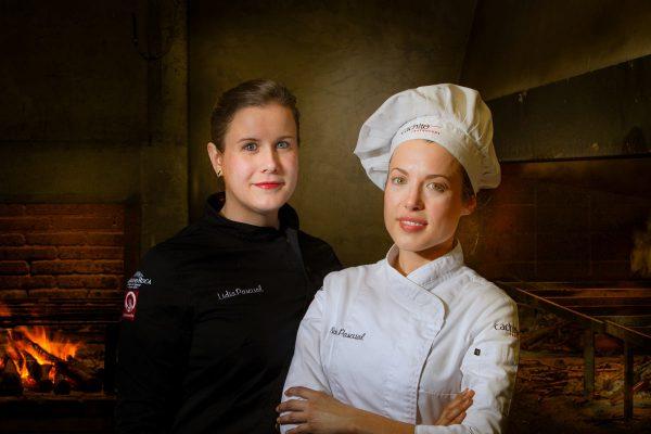 Noelia Pascual, Lidia Pascual. Restaurante cachito, foto Hotcreatividad
