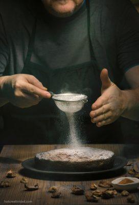 cocinero, azucar glas, reposteria, fotografia gastronomica, fotografia publicitaria, fotografia producto, fotografia profesional, Alicante