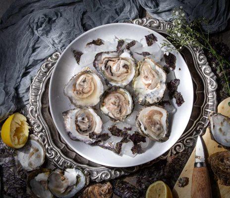 Ostras. Fotografia Gastronomica Hotcreatividad