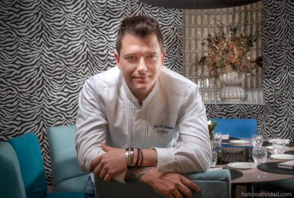 chef, Jose Antonio Sánchez, Retrato profesional. Hotcreatividad