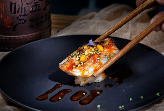plato gambas foto gastronomica el mundo