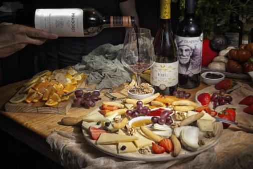 Tablas de quesos en el Gastrobar Vinos y Más. HOTCREATIVIDAD